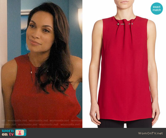 Proenza Schouler Sleeveless Barbell Top worn by Jane Ramos (Rosario Dawson) on Jane the Virgin