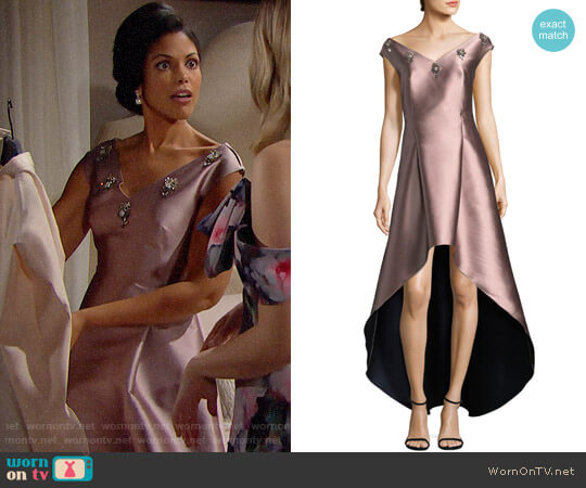Sachin + Babi Alexandra Gown worn by Karla Mosley on The Bold & the Beautiful