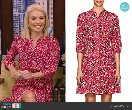 'Tyra' Dress by Saloni worn by Kelly Ripa on Live with Kelly & Ryan