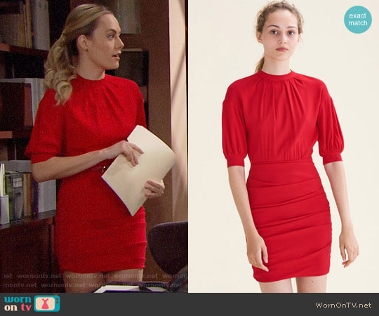 Maje Roxia Dress worn by Hope Logan (Annika Noelle) on The Bold & the Beautiful