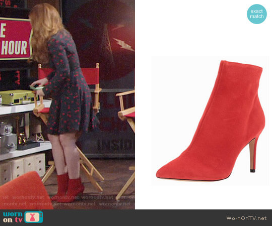 Steve Madden Logic Ankle Boots worn by Camryn Grimes on The Young & the Restless