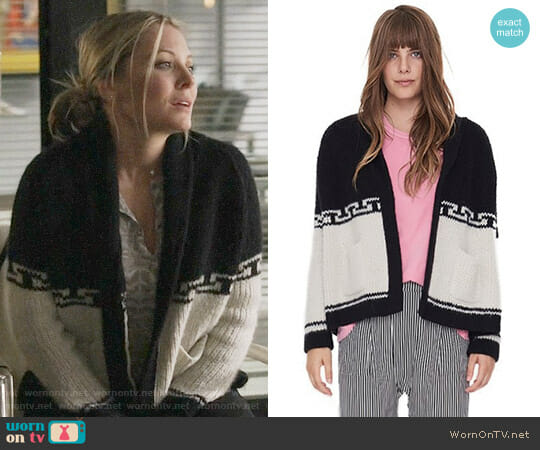 The Great Lodge Cardigan worn by Jessie Caine (Kaitlin Doubleday) on Nashville