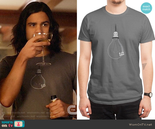 Threadless Goodbye Cruel World T-shirt worn by Carlos Valdes on The Flash