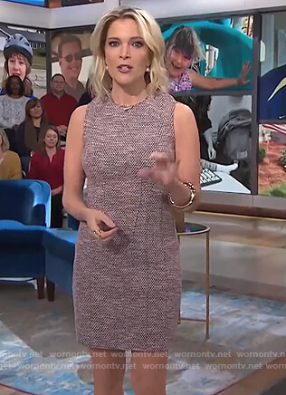 Megyn's tweed mini dress on Megyn Kelly Today