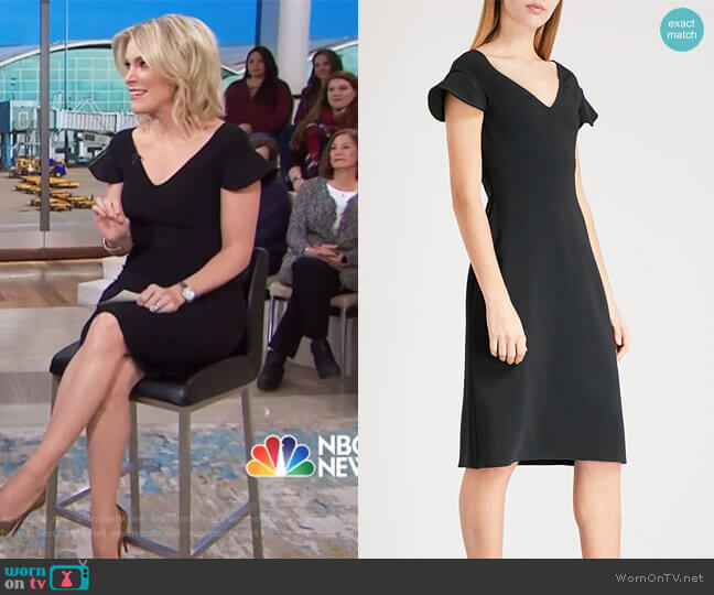 Marisa crepe dress by Antonio Berardi worn by Megyn Kelly  on Today