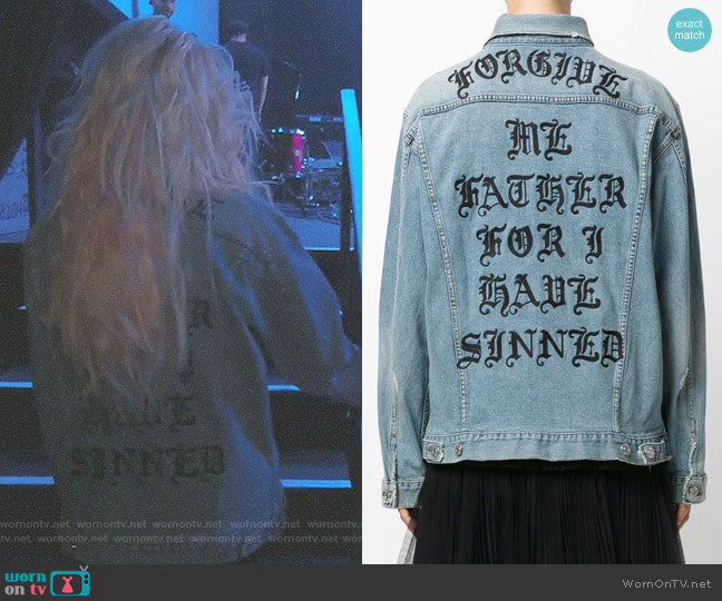 Forgive Me Jacket by Adaptation worn by Erika Girardi  on The Real Housewives of Beverly Hills