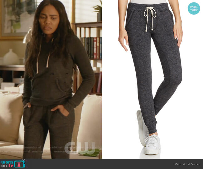 Slim Jogger Pants by Alternative worn by Jennifer Pierce (China Anne McClain) on Black Lightning