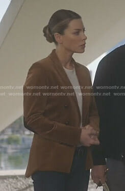 Chloe's brown corduroy jacket on Lucifer