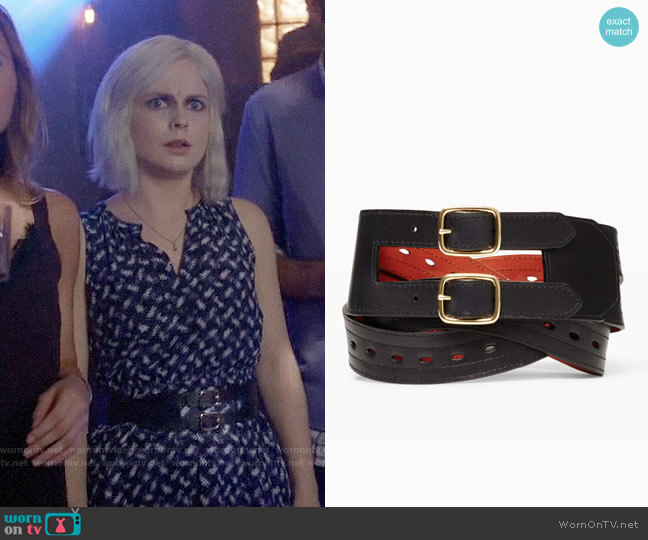 Club Monaco Keoki Belt  worn by Liv Moore (Rose McIver) on iZombie