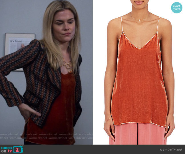 Velvet Cami by Giada Forte worn by Rachael Taylor on Jessica Jones