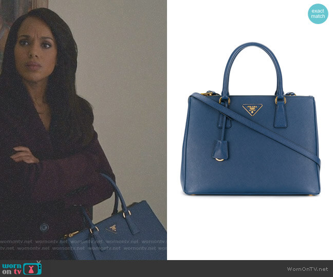 'Galleria' tote bag by Prada worn by Kerry Washington on Scandal