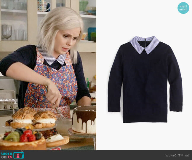 J. Crew Collared Tippi Sweater worn by Liv Moore (Rose McIver) on iZombie