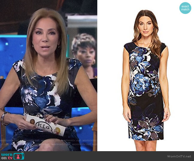 Koriza Patras Floral Dress by Lauren by Ralph Lauren worn by Kathie Lee Gifford  on Today