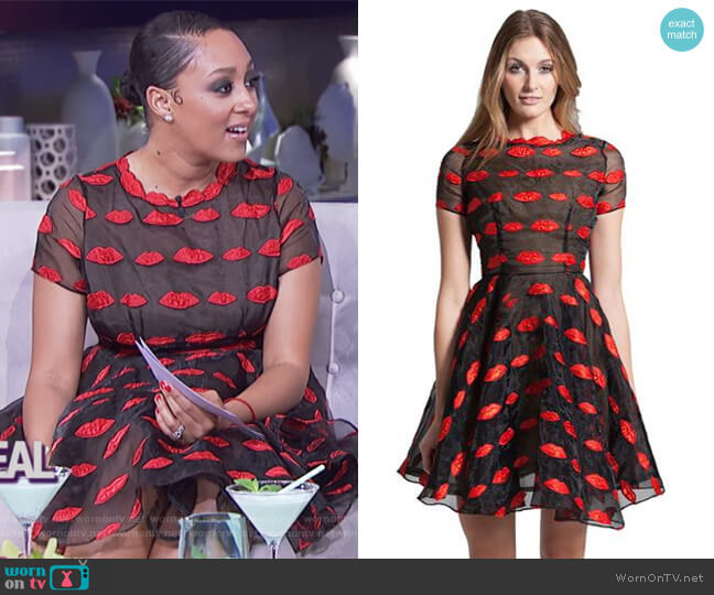 Daelyn Dress by Narces worn by Tamera Mowry on The Real