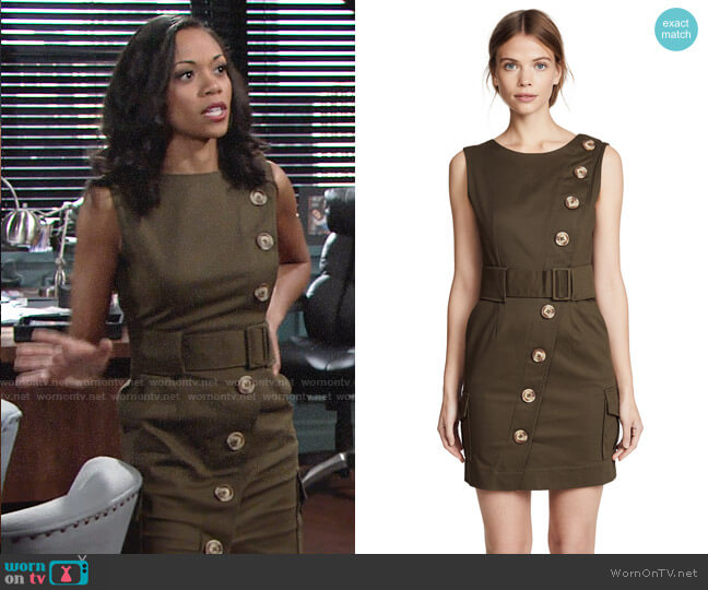 N/Nicholas Backless Dress worn by Hilary Curtis (Mishael Morgan) on The Young & the Restless