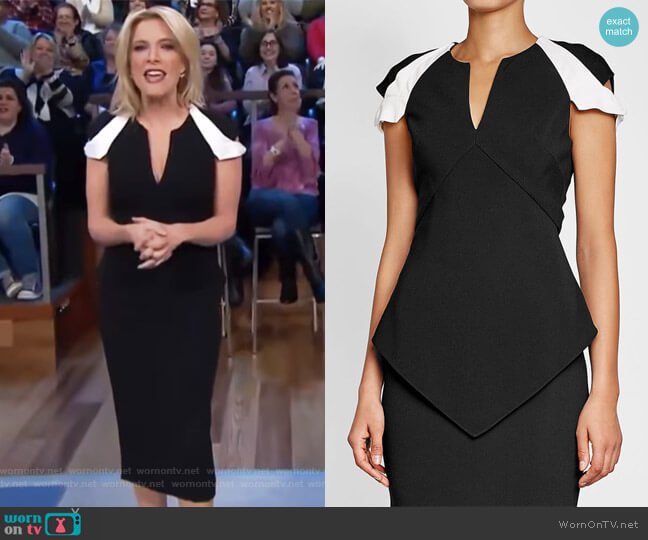 Tailored Dress by Roland Mouret worn by Megyn Kelly on Today