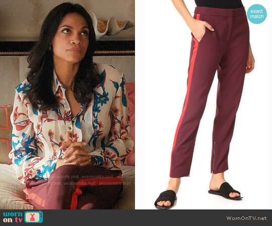 Rag & Bone Willoughby Pants worn by Jane Ramos (Rosario Dawson) on Jane the Virgin