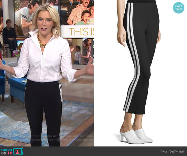 Simone Side Stripe Slim Ankle Pants by Rag & Bone worn by Megyn Kelly  on Today