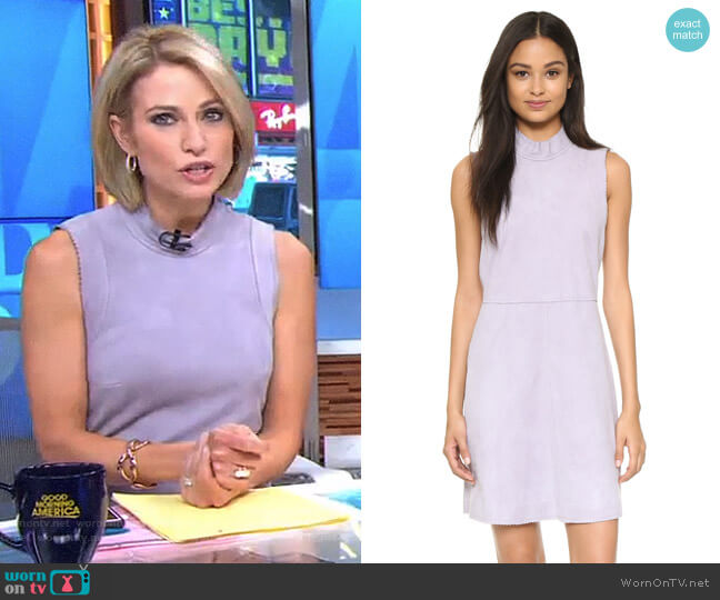 'Cardamon' Dress by Rebecca Minkoff worn by Amy Robach  on Good Morning America