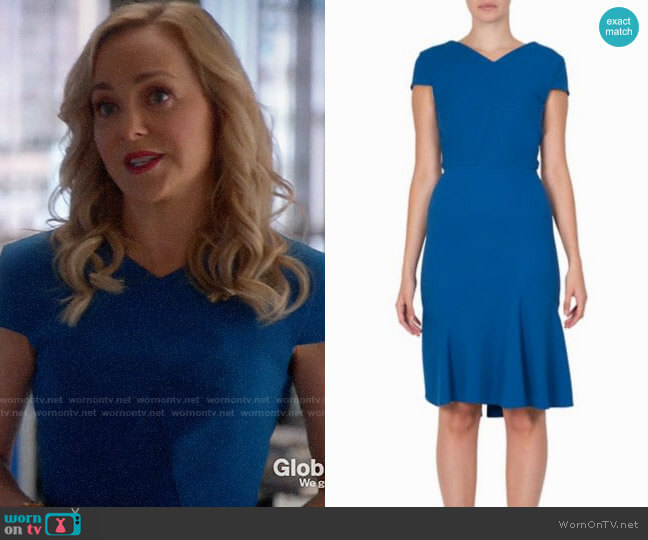 Roland Mouret Edwin Dress worn by Marissa Morgan (Geneva Carr) on Bull