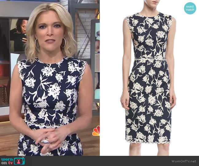 Lillie Floral-Print Dress by Sachin & Babi worn by Megyn Kelly on Today
