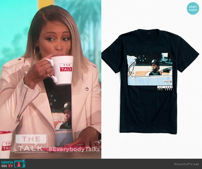 Ice Cube Impala Tee by Urban Outfitters worn by Eve on The Talk