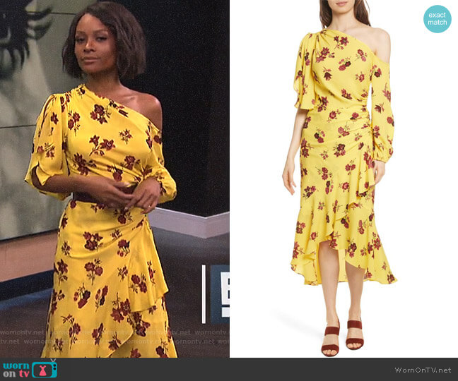 'Florence' Dress by ALC worn by Zuri Hall on E! News