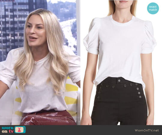 'Kati' Tee by ALC worn by Morgan Stewart on E! News