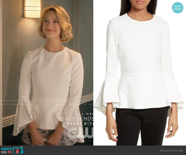 Alice + Olivia Ruby Top worn by Petra Solano (Yael Grobglas) on Jane the Virgin