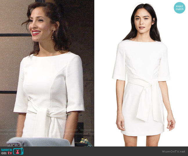 Alice + Olivia Virgil Dress worn by Lily Winters (Christel Khalil) on The Young & the Restless