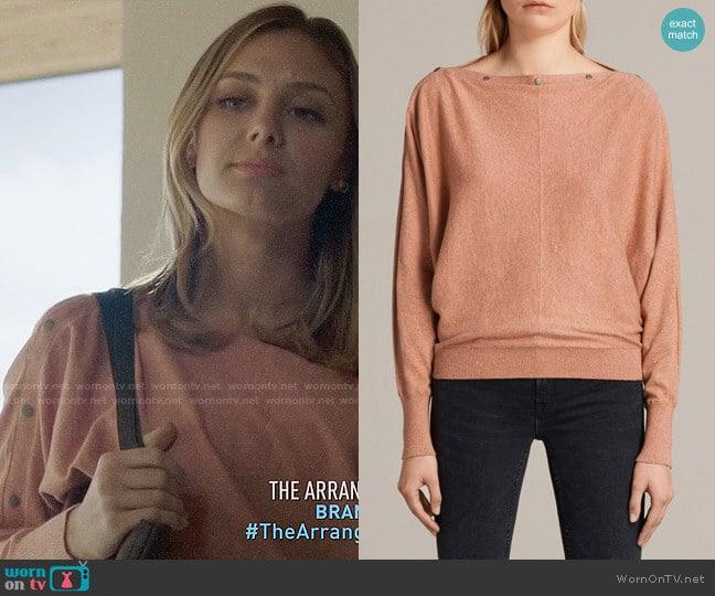 All Saints Elle Sweater worn by Christine Evangelista on The Arrangement
