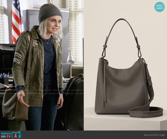 All Saints Kita Crossbody Bag worn by Rose McIver on iZombie
