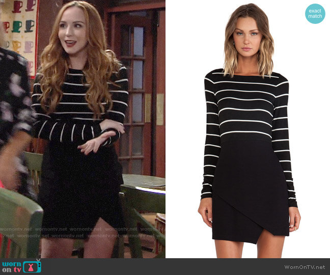 Bailey 44 Manic Depressive Dress worn by Camryn Grimes on The Young & the Restless