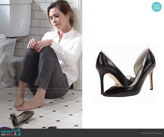 Bcbgeneration Tricky Pumps worn by Victoria Newman (Amelia Heinle) on The Young & the Restless
