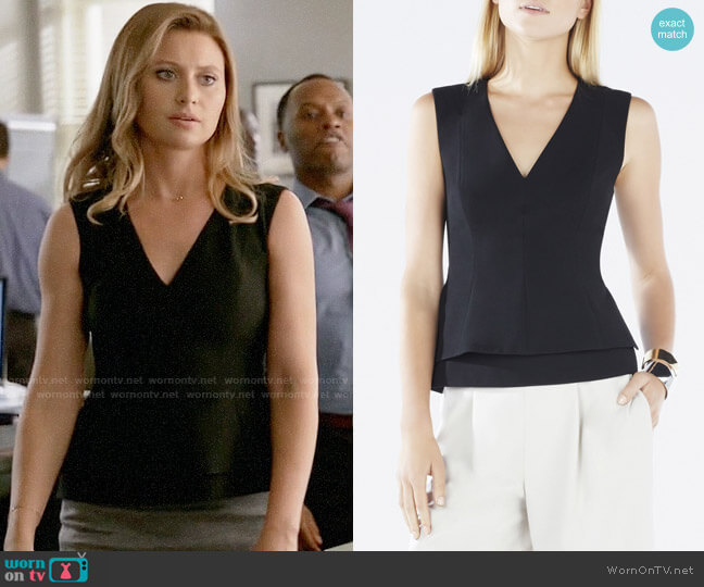 Bcbgmaxazria Jacquelynna Top worn by Peyton Charles (Aly Michalka) on iZombie