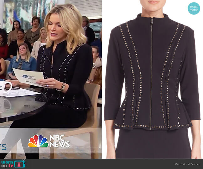 Eduarda Studded Jacket by Chiara Boni La Petite worn by Megyn Kelly (Megyn Kelly) on Today