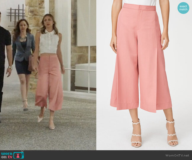 Club Monaco Caroline Pants worn by Megan Morrison (Christine Evangelista) on The Arrangement