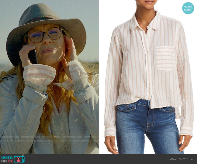 Current Elliott The Georgia Striped Shirt  worn by Connie Britton on 9-1-1