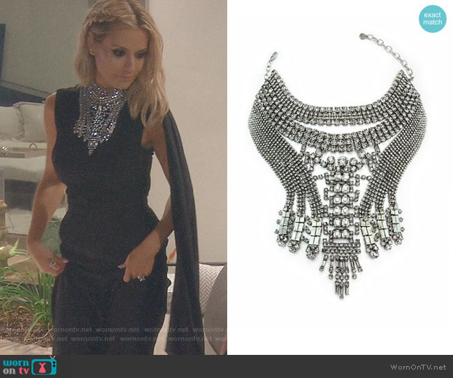 Falkor V Necklace by Dylanlex worn by Dorit Kemsley  on The Real Housewives of Beverly Hills