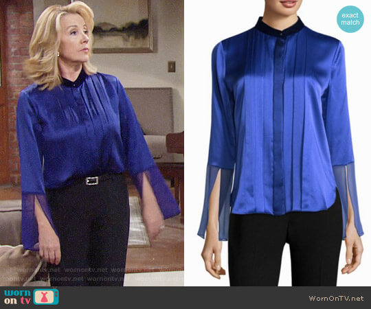 Elie Tahari Izarra worn by Melody Thomas-Scott on The Young & the Restless