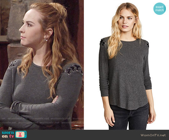 Generation Love Pauline Top worn by Camryn Grimes on The Young & the Restless