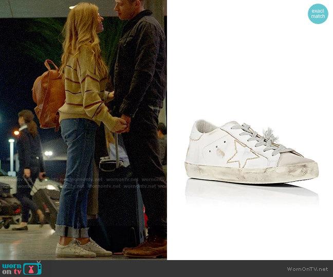 Golden Goose Superstar Sneakers worn by Connie Britton on 9-1-1