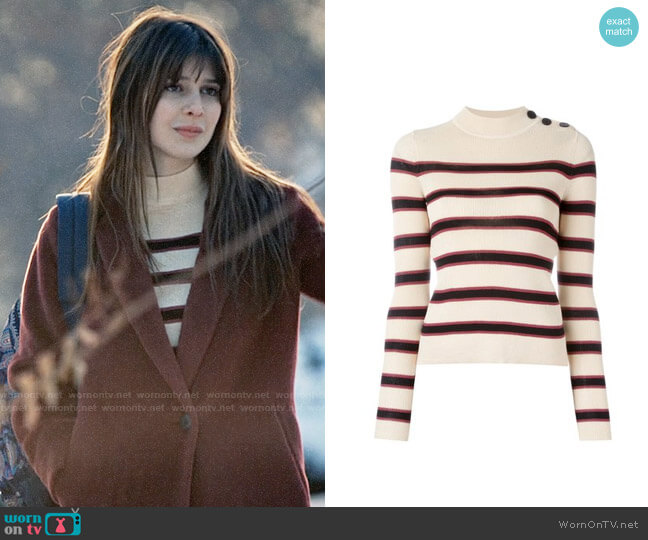 Isabel Marant Devona Sweater worn by Kathrine Herzer on Madam Secretary
