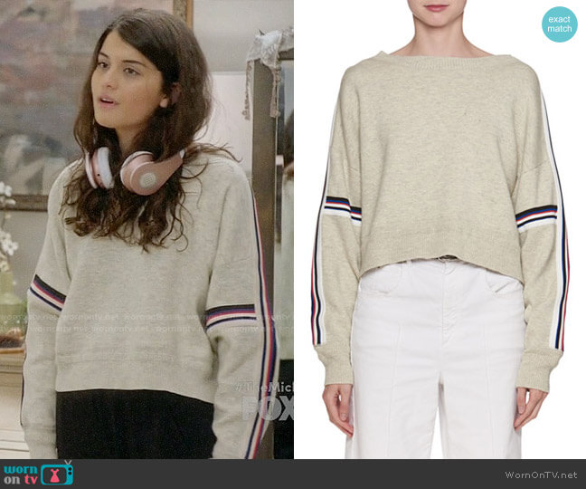 Kao Sweater by Isabel Marant Etoile worn by Sofia Black D'Elia on The Mick