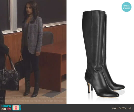 'Grand' Tall Boot by Jimmy Choo worn by Olivia Pope (Kerry Washington) on Scandal