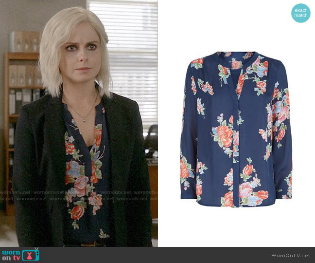 Joie Alicante Blouse worn by Rose McIver on iZombie
