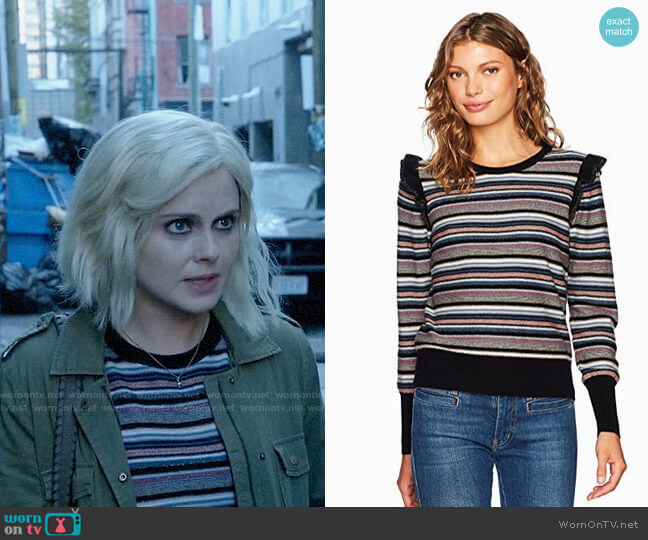 Joie Cais Sweater worn by Liv Moore (Rose McIver) on iZombie