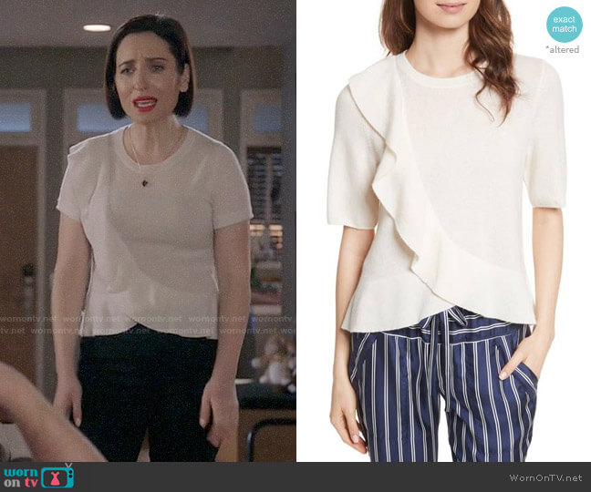 Joie Jayni Sweater worn by Zoe Lister-Jones on Life in Pieces