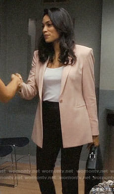 JR's pink blazer on Jane the Virgin