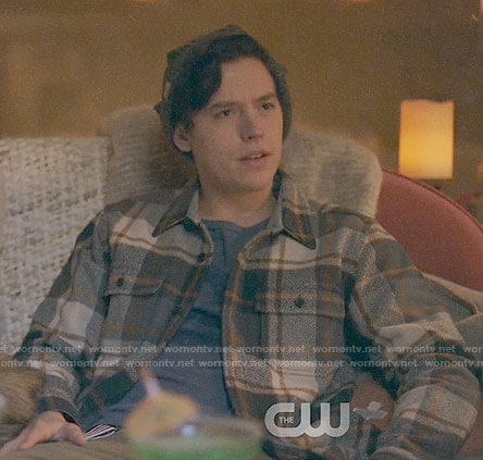 Jughead's plaid jacket on Riverdale